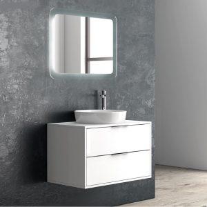 Karag Super Bianco Due 80 Έπιπλο Μπάνιου