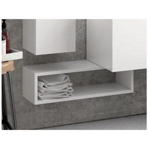 Ραφιέρα μπάνιου Karag Bianco 70