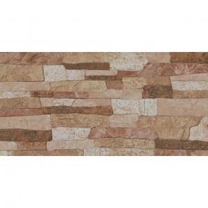 Keros Adobe Cuero 23x46 Πλακάκι Τοίχου Απομίμηση Πέτρας