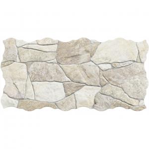 Keros Belcaire Beige 23x46 Πλακάκι Τοίχου Απομίμηση Πέτρας