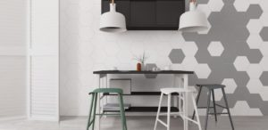Εξάγωνα Πλακάκια Τοίχου Keros Element 23x27