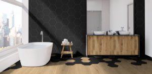 Εξάγωνα Πλακάκια Μπάνιου Keros Element 23x27