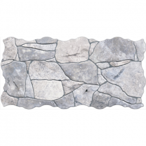 Keros Piedra Gris 23x46 Πλακάκι Πέτρα Επένδυσης Τοίχου