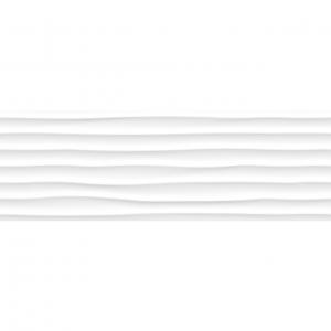 Keros White Mate Dune 25x75 Πλακάκι Μπάνιου Λευκό Ματ