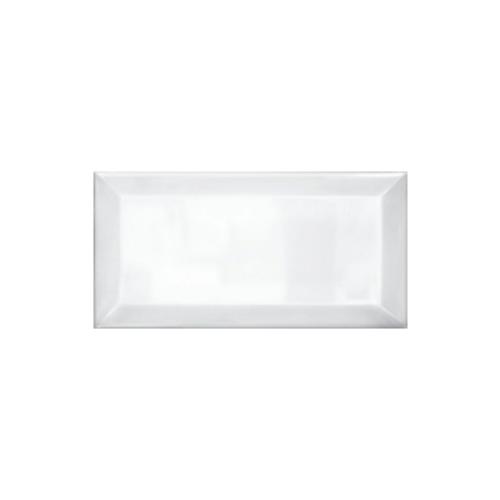 Metro Bizoute White 10x20 Πλακάκι Τουβλάκι Λευκό
