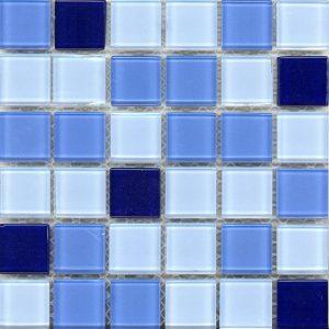 Γυάλινη Ψηφίδα Μπάνιου New Aquamarine