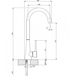 Orabella Element 500072  - Μπαταρία Για Επιτραπέζιο Νιπτήρα