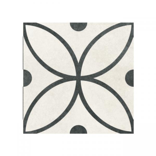 Retro Flor White 30x30