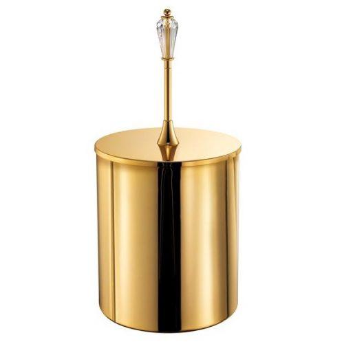 Χαρτοδοχείο Χρυσό 24k Sanco Dolce 16625