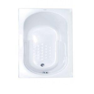Ευθύγραμμη Μπανιέρα Sanitec Gloria 105 x 70