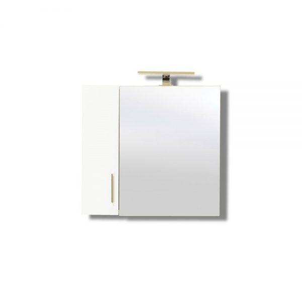 Siena 60 White Καθρέπτης Μπάνιου