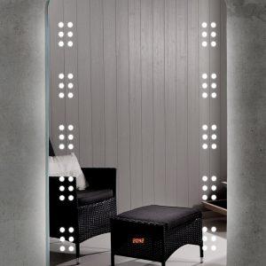 Καθρέπτης Μπάνιου Με Φωτισμό Led