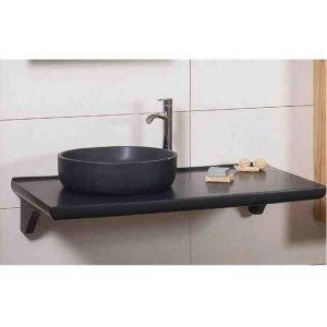 Πάγκος Για Νιπτήρα Μπάνιου Tavla 105 black