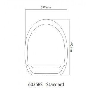 Uspa Standard 6035RSΗλεκτρονικό Κάθισμα Μπιντέ