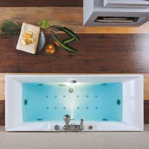 Ακρυλική Μπανιέρα Υδρομασάζ Acrilan Ios 180 x 80