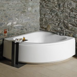 Γωνιακή μπανιέρα Acrilan Isabel