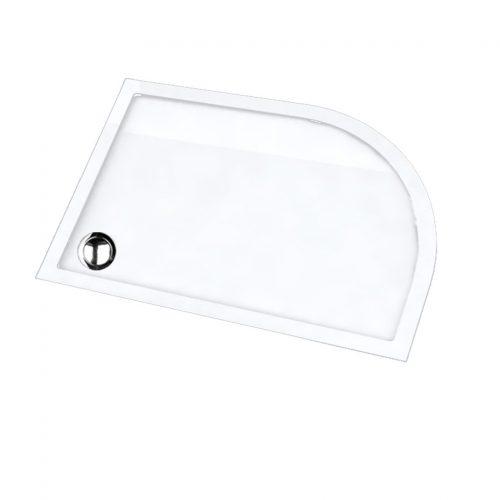 Ασύμμετρη ντουζιέρα Sirene Extra Flat