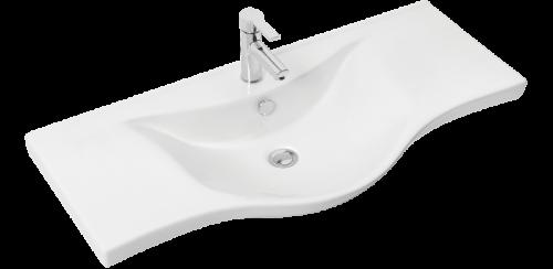 Έπιπλο Μπάνιου Alba 100 White 01