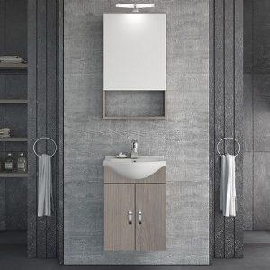 Έπιπλο μπάνιου Alba 45 Brown