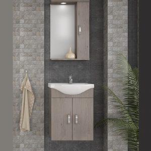 Έπιπλο μπάνιου Alba 55 Brown