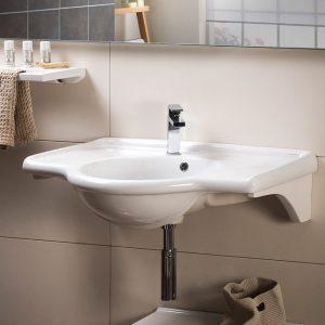 Ρετρό νιπτήρας μπάνιου Artemis