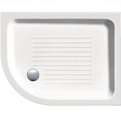 Ασύμμετρη ντουζιέρα πορσελάνης GSI 70x90
