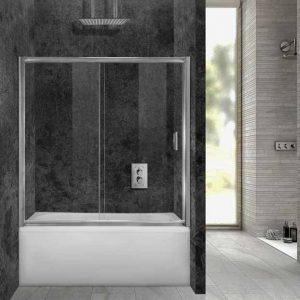 Καμπίνα μπανιέρας από τοίχο σε τοίχο Aquarelle Bathtub 70