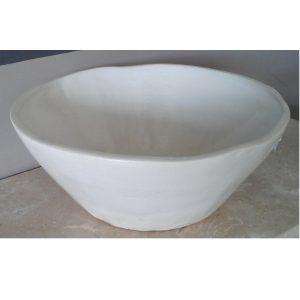 Επιτραπέζιος Νιπτήρας Μπάνιου Χειροποίητος Blanc 35