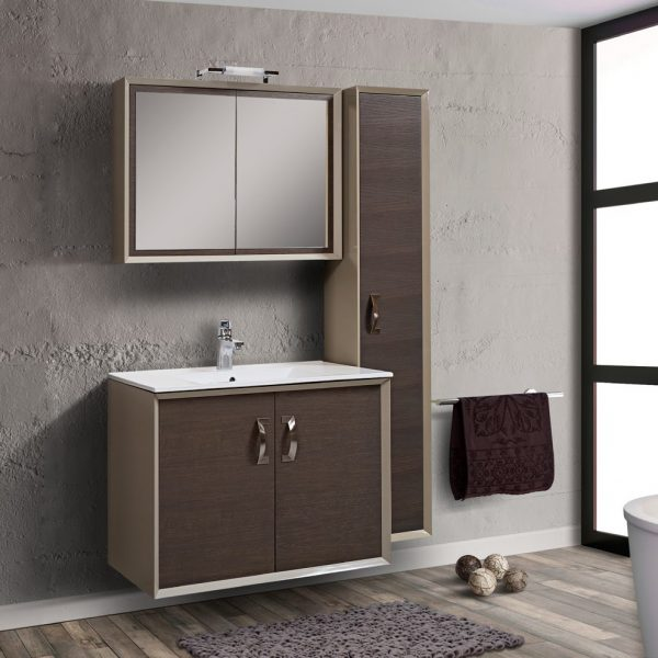 Έπιπλο μπάνιου MDF / Κόντρα πλακέ Caldera