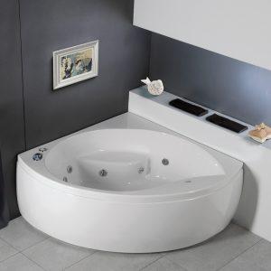 Γωνιακή μπανιέρα υδρομασάζ Carron Tranquility