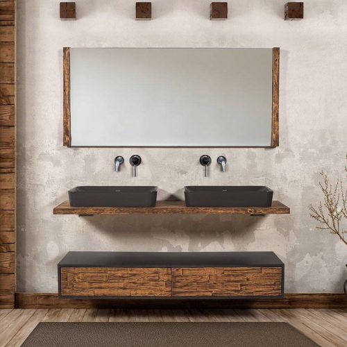 Χειροποίητο έπιπλο μπάνιου Como 160