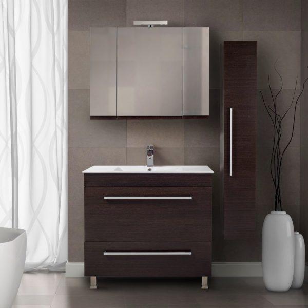 Έπιπλο μπάνιου MDF και κόντρα πλακέ - Debora
