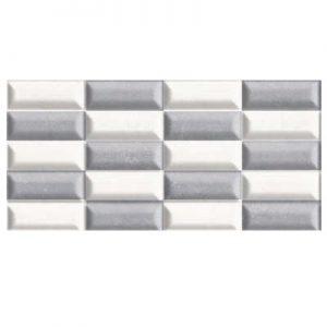 decor relieve gris