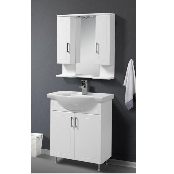 Έπιπλο μπάνιου Extra White 75