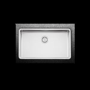 Apell Linear Plus FEM71 Υποκαθήμενος Νεροχύτης Κουζίνας