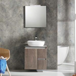 Έπιπλο μπάνιου Furni c60 counter