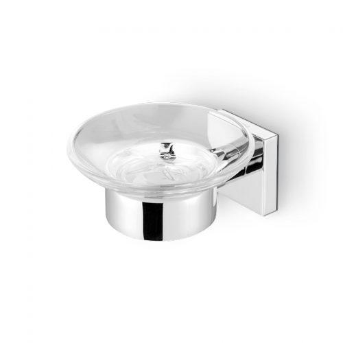 geesa nelio  σαπουνοθήκη μπάνιου κρυστάλλινη