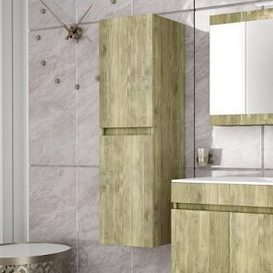 Στήλη μπάνιου Gold 34x34
