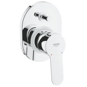 grohe  bauedge concealed with diverter