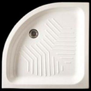 Sanimed 90x90 - Ημικυκλική ντουζιέρα πορσελάνη