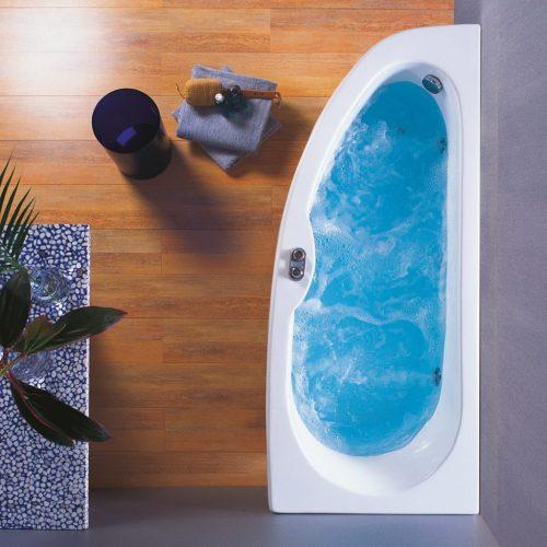 Ασύμμετρη μπανιέρα δεξιά