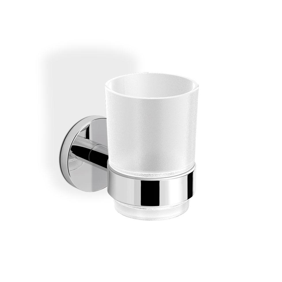 langberger series  ποτηροθήκη μπάνιου κρυστάλλινη