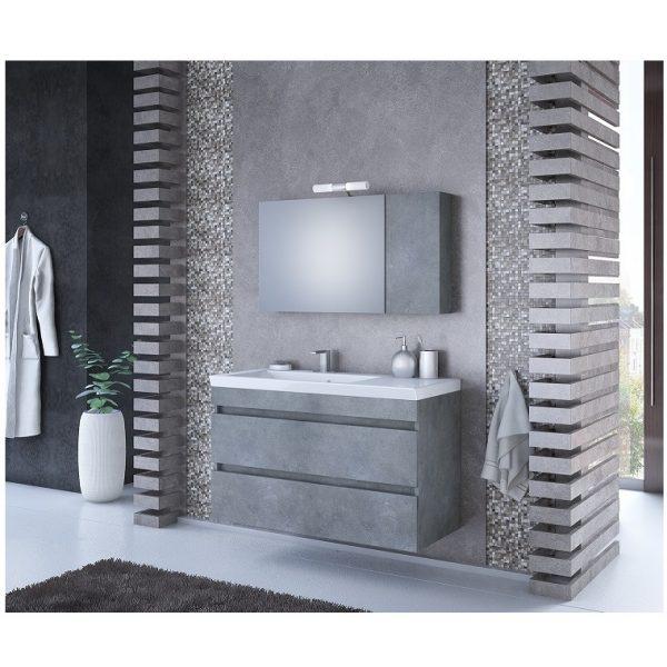 Κρεμαστό έπιπλο μπάνιου Luxus 100 Granite