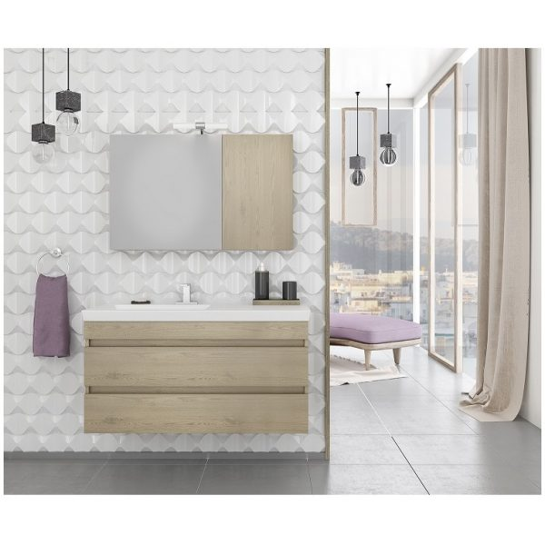 Έπιπλο Μπάνιου Luxus 100 Wood