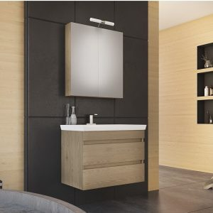 Έπιπλο μπάνιου Luxus 70 Wood
