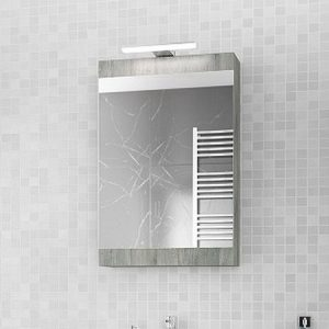 Καθρέπτης - ντουλάπι Magnolia 40 smoked
