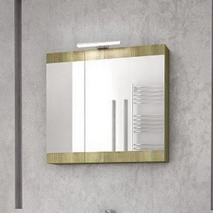 Καθρέπτης - ντουλάπι Magnolia 60 Gold