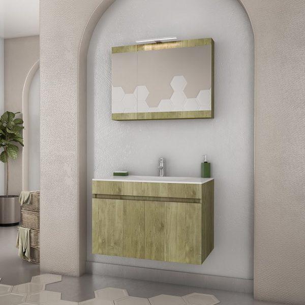 Έπιπλο μπάνιου Magnolia 75 Gold