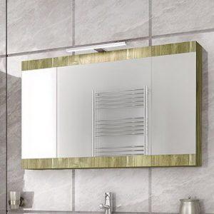 Καθρέπτης - ντουλάπι Magnolia 90 Gold