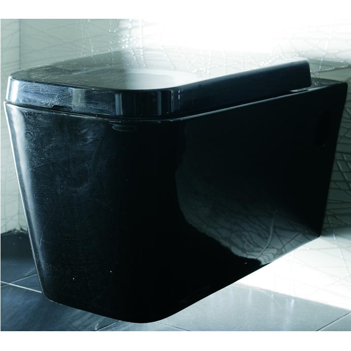 Μαύρη κρεμαστή λεκάνη Nero ct2370
